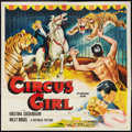 "Movie Posters:Adventure, Circus Girl (Republic, 1956). Six Sheet (81"" X 81""). Adventure....."