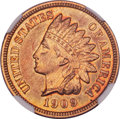 Proof Indian Cents, 1909 1C PR67 Red and Brown Cameo NGC....