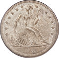 Seated Dollars, 1860-O $1 MS63 PCGS. CAC....