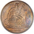 Gobrecht Dollars, 1836 P$1 Name on Base, Judd-60 Restrike, Pollock-65, R.5, PR61NGC....