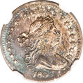Early Half Dimes, 1803 H10C Large 8 MS62 NGC....