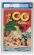 Golden Age (1938-1955):Funny Animal, Zoo Funnies #2 (Charlton, 1945) CGC NM+ 9.6 Off-white to whitepages....
