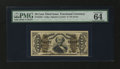 Fractional Currency:Third Issue, Fr. 1334 50¢ Third Issue Spinner PMG Choice Uncirculated 64 EPQ....