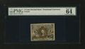 Fractional Currency:Second Issue, Fr. 1234 5¢ Second Issue PMG Choice Uncirculated 64 EPQ....