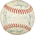Baseball Collectibles:Balls, 1965 Pittsburgh Pirates Team Signed Baseball....