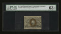 Fractional Currency:Second Issue, Fr. 1285 25¢ Second Issue PMG Choice Uncirculated 63 EPQ....