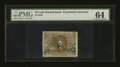 Fractional Currency:Second Issue, Fr. 1246 10¢ Second Issue PMG Choice Uncirculated 64....
