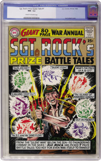 Sgt. Rock's Prize Battle Tales Annual #1 (DC, 1964) CGC NM- 9.2 Cream to off-white pages