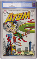 Silver Age (1956-1969):Superhero, The Atom #7 Massachusetts Copy pedigree (DC, 1963) CGC NM- 9.2 White pages....
