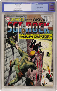 Showcase #45 Sgt. Rock (DC, 1963) CGC NM- 9.2 Cream to off-white pages