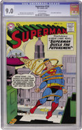 Silver Age (1956-1969):Superhero, Superman #128 (DC, 1959) CGC VF/NM 9.0 Off-white pages....
