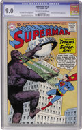 Silver Age (1956-1969):Superhero, Superman #138 (DC, 1960) CGC VF/NM 9.0 Off-white to white pages....