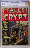 Golden Age (1938-1955):Horror, Tales From the Crypt #26 (EC, 1951) CGC VF/NM 9.0 Off-whitepages....
