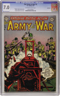 Golden Age (1938-1955):War, Our Army at War #2 Bethlehem pedigree (DC, 1952) CGC FN/VF 7.0 Off-white to white pages....