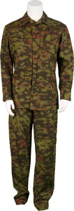 Movie/TV Memorabilia:Costumes, Soldier Production-Used Uniform.... (Total: 2 Items)