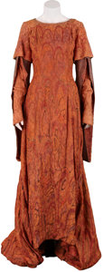 Movie/TV Memorabilia:Costumes, Camelot Screen-Featured Gowns from Knighting Scene....(Total: 2 Items)
