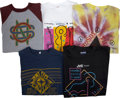 Music Memorabilia:Memorabilia, Crosby, Stills & Nash Tour T-Shirts from Graham Nash's Collection.... (Total: 10 )