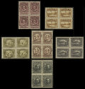 Stamps, John Guy Issue, Engraved (98-103),... (Total: 1 Misc)