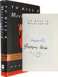 Movie/TV Memorabilia:Autographs and Signed Items, Gregory Peck, Harper Lee, and Mary Badham Signed Copy of To Killa Mockingbird....
