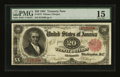 Large Size:Treasury Notes, Fr. 375 $20 1891 Treasury Note PMG Choice Fine 15....