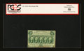 Fractional Currency:First Issue, Fr. 1311 50¢ First Issue PCGS Apparent Choice About New 58....