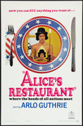 """Movie Posters:Comedy, Alice's Restaurant (United Artists, 1969). One Sheet (27"""" X 41"""") Style B Advance. Comedy.. ..."""