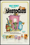 "Movie Posters:Animated, The Aristocats Lot (Buena Vista, 1971). One Sheets (3) (27"" X 41"")and Australian One Sheet (27"" X 38""). Animated.. ... (Total: 4Items)"