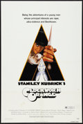 "Movie Posters:Science Fiction, A Clockwork Orange (Warner Brothers, 1972). One Sheet (27"" X 41"").Science Fiction.. ..."