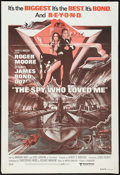 "Movie Posters:James Bond, The Spy Who Loved Me (United Artists, R-1980s). Australian OneSheet (27"" X 40""). James Bond.. ..."