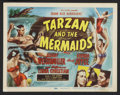 "Movie Posters:Adventure, Tarzan and the Mermaids (RKO, 1948). Lobby Card Set of 8 (11"" X14""). Adventure.. ... (Total: 8 Items)"