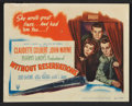 "Movie Posters:Comedy, Without Reservations (RKO, 1946). Lobby Card Set of 8 (11"" X 14"").Comedy.. ... (Total: 8 Items)"