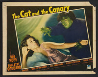 "The Cat and the Canary (Paramount, 1939). Lobby Cards (4) (11"" X 14""). Mystery. ... (Total: 4 Items)"