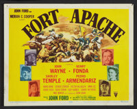 "Fort Apache (RKO, 1948). Title Lobby Card and Lobby Cards (5) (11"" X 14""). Western. ... (Total: 6 Items)"
