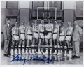 Basketball Collectibles:Photos, George Mikan Signed Photograph....