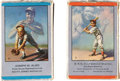 Baseball Cards:Sets, 1953-55 Brown & Bigelow Babe Ruth and Lou Gehrig Playing Card Decks Pair (2). ...