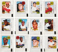 Baseball Cards:Sets, 1969 Topps Decals Baseball Complete Set (48). ...