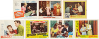 Barbara Stanwyck, Yvonne De Carlo, Janet Leigh, and Other Femme Fatale-Signed Lobby Cards