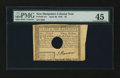 Colonial Notes:New Hampshire, New Hampshire April 29, 1780 $3 PMG Choice Extremely Fine 45....