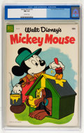 Golden Age (1938-1955):Funny Animal, Mickey Mouse #33 (Dell, 1954) CGC NM 9.4 Off-white pages....