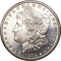 Morgan Dollars, 1878 7/8TF $1 Strong MS64 Deep Mirror Prooflike PCGS....