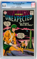 Golden Age (1938-1955):Science Fiction, Tales of the Unexpected #38 (DC, 1959) CGC VF+ 8.5 Off-whitepages....