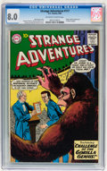 Silver Age (1956-1969):Science Fiction, Strange Adventures #117 (DC, 1960) CGC VF 8.0 Off-white to whitepages....