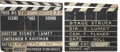 Movie/TV Memorabilia:Memorabilia, Sidney Lumet Stage Struck and The Fugitive KindProduction-Used Clapperboards.... (Total: 2 Items)