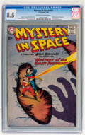 Silver Age (1956-1969):Science Fiction, Mystery in Space #57 (DC, 1960) CGC VF+ 8.5 Off-white to whitepages....