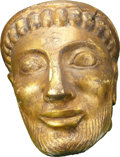 Movie/TV Memorabilia:Props, Troy Screen-Featured Prop Statue Head....