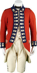 Movie/TV Memorabilia:Costumes, The Patriot Screen-Worn British Soldier's Uniform....(Total: 8 Items)