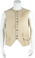 Movie/TV Memorabilia:Costumes, The Patriot Costume Vest....
