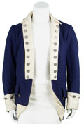 Movie/TV Memorabilia:Costumes, The Patriot Production-Made Jacket....