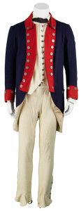 Movie/TV Memorabilia:Costumes, The Patriot Screen-Featured American Soldier Uniform.... (Total: 7 Items)