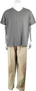 Movie/TV Memorabilia:Costumes, Saw III - Angus Macfadyen Costume.... (Total: 2 Items)